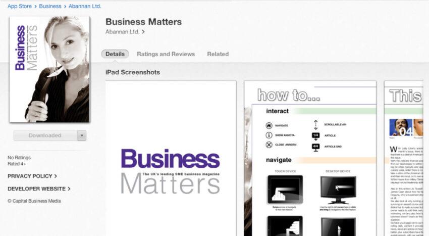 business-matters-ipad-app