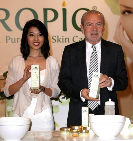 Lord Sugar & Susan Ma Tropic Skincare