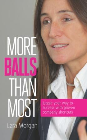 Review: More balls than most by Lara Morgan