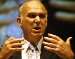 Vince Cable urges British business to explore non-bank funding