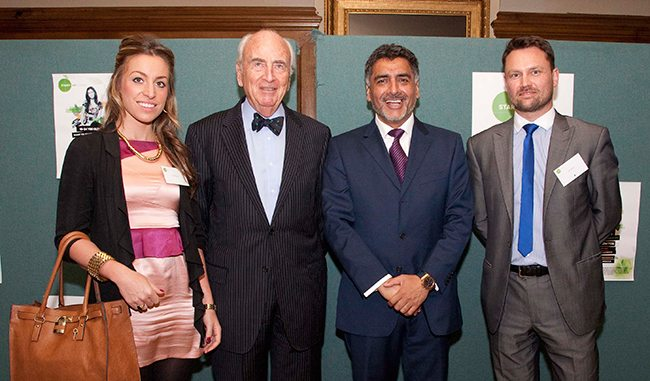 Startup Loans Chairman James Caan with Lord Young & Rochdale based Tangle Dress designs at recent launch