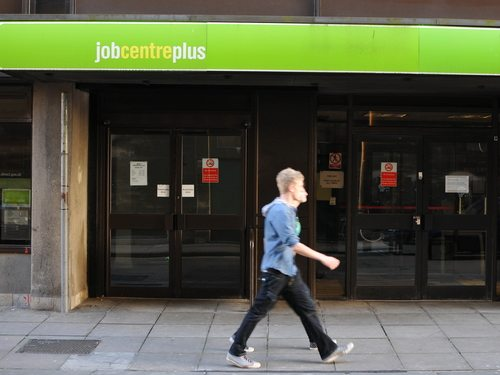 Sharp fall in jobless claimants fuels hope for economy