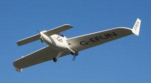 Photo - e-Go flying