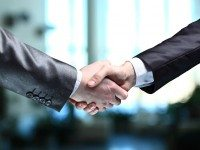 Handshake via twitter