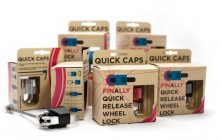 Cyclists show support for revolutionary new quick release wheel lock 'Quick Caps'