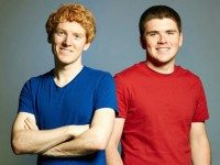 Stripe co-founders, John and Patrick Collison.