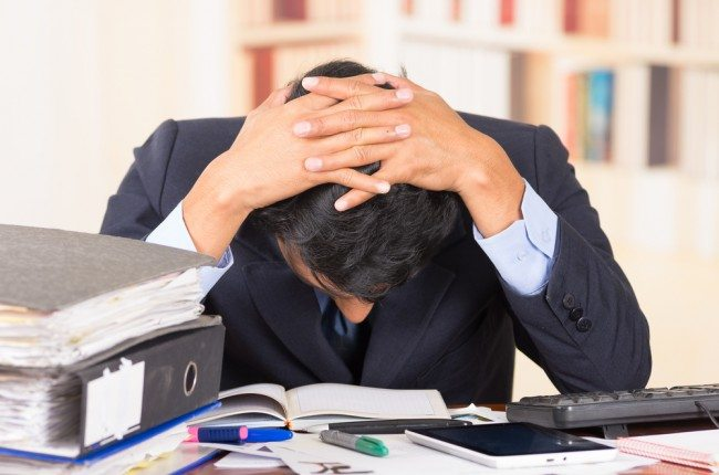 Workplace stress causing meltdown in majority of UK workplaces