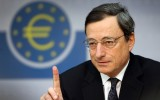 Euro falls as European Central Bank boss Mario Draghi hints at rate cut and changes to QE