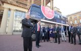 The 2016 Startup Britain bus tour launched at Buckingham Palace