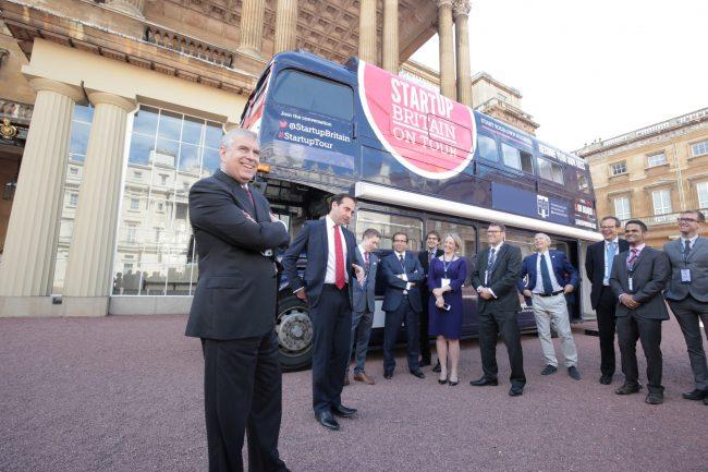 startup britain bus