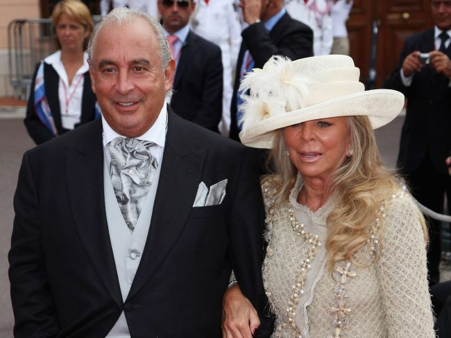 Sir Philip and Lady Green