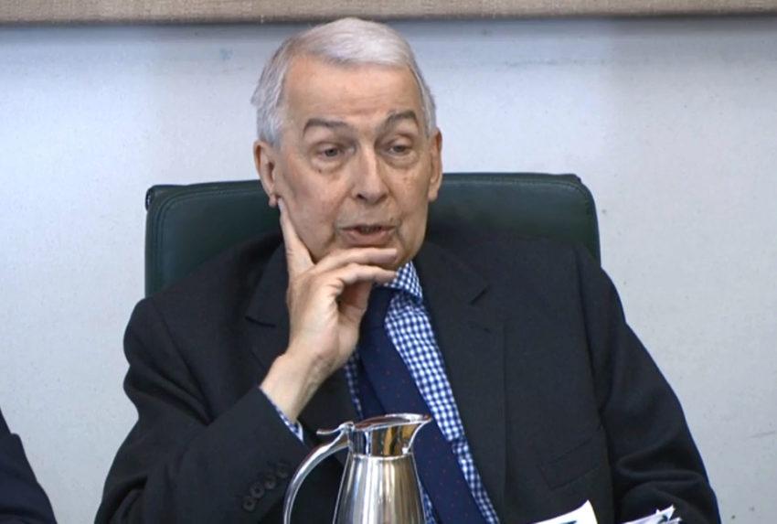 Frank Field BHS pensions row