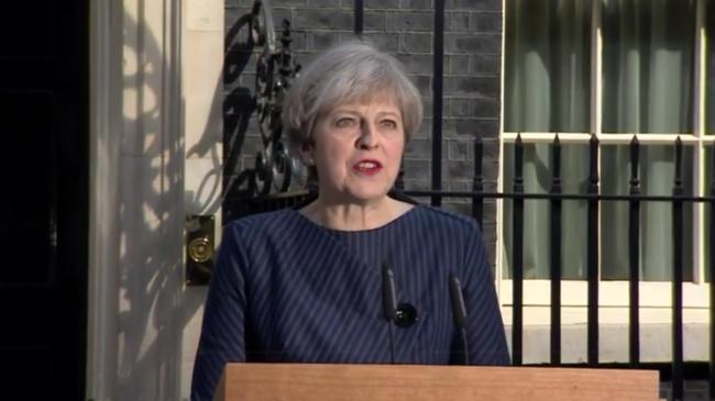 Theresa May general election
