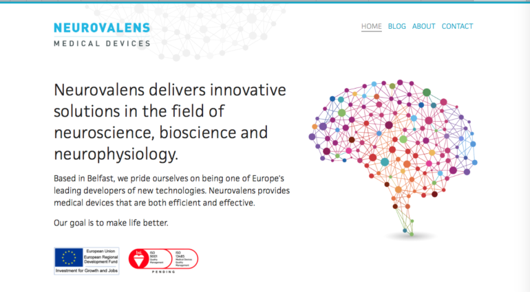 Neuroscience and technology startup Neurovalens takes £1 1m
