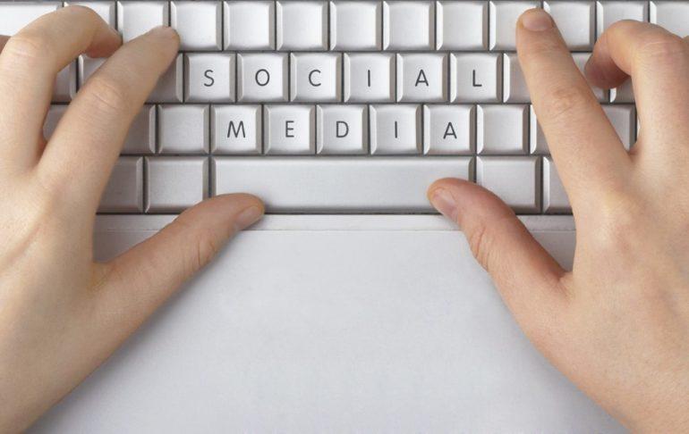 candidates social media
