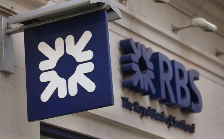 RBS Bank tarnished