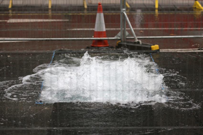 Thames Water leaks