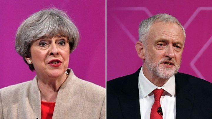 May & Corbyn