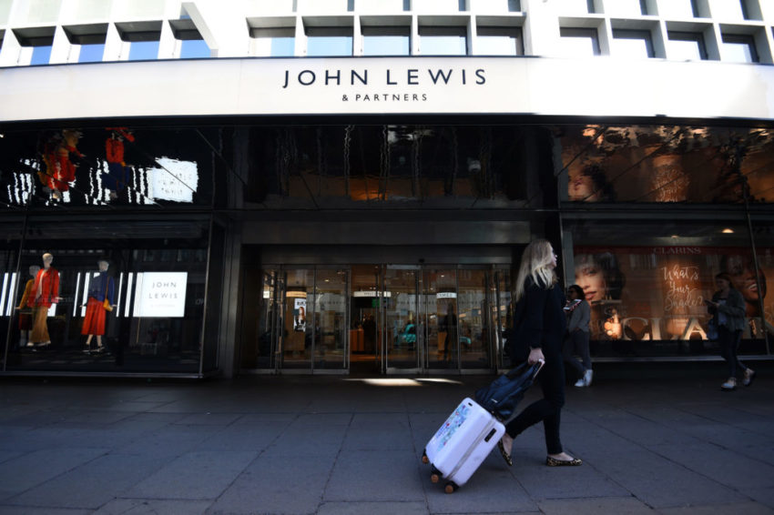 John Lewis announces details of first stores to reopen