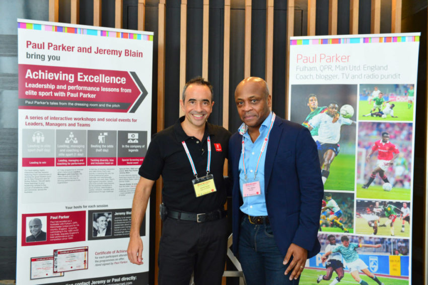 Retired footballer Paul Parker tells Business Matters who he admires and whatdefines his way of doing business