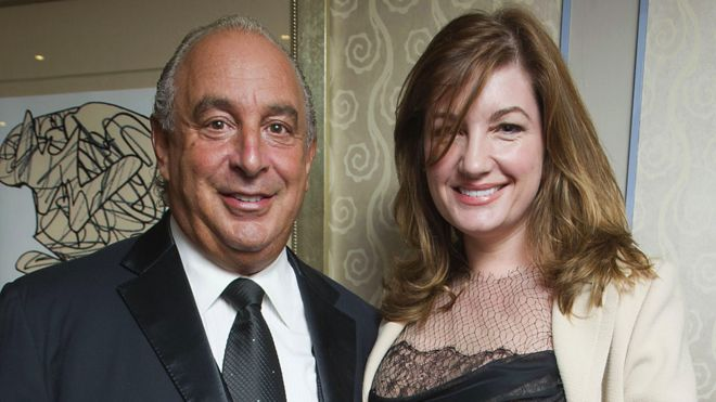 Baroness Karren Brady has resigned from Sir Philip Green's retail empire, just weeks after vowing to stay in her post despite a harassment scandal.