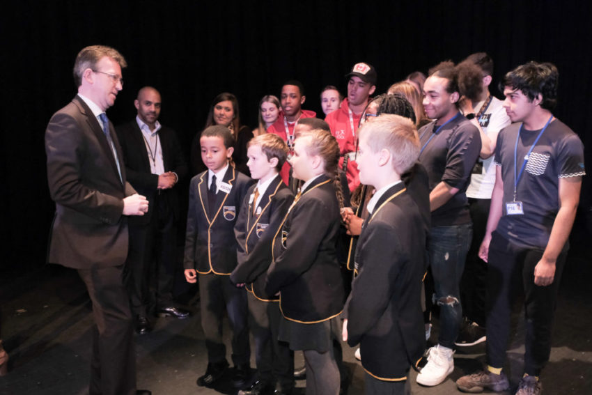 World-class cultural organisations will team up with local schools to encourage young people into the performing arts, Jeremy Wright, Secretary of State for Digital, Culture, Media and Sport, has announced.