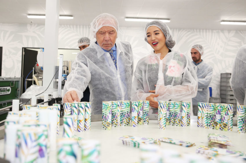 Lord Sugar unveils TropicÕs new Croydon headquarters with founder Susie Ma after £4m investment