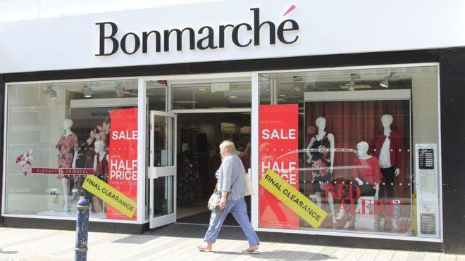 Fashion chain Bonmarché