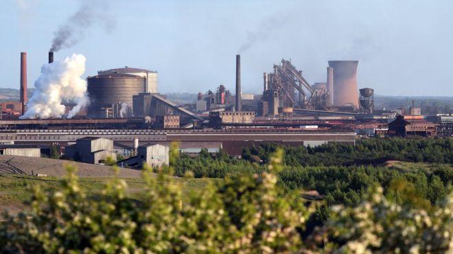 British Steel Scunthorpe