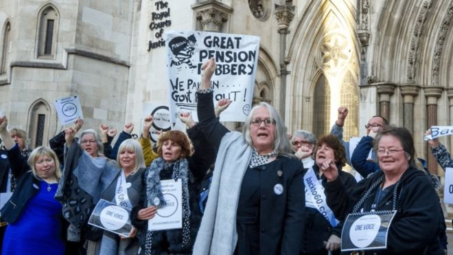 Campaigners will head to the High Court on Wednesday for a judicial review into how the government raised the retirement age for women.