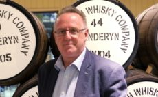 Stephen Davies, from Penderyn Distillery,
