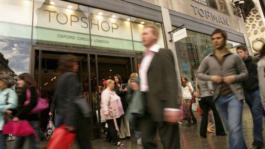 Top Shop Oxford Street