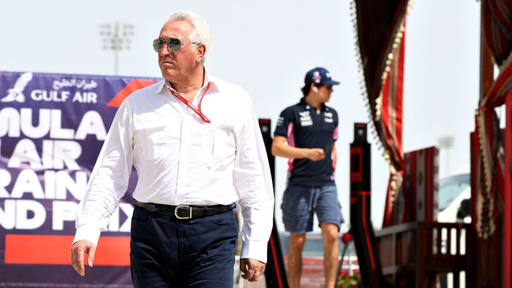 Lawrence Stroll owns the Racing Point Formula 1 team