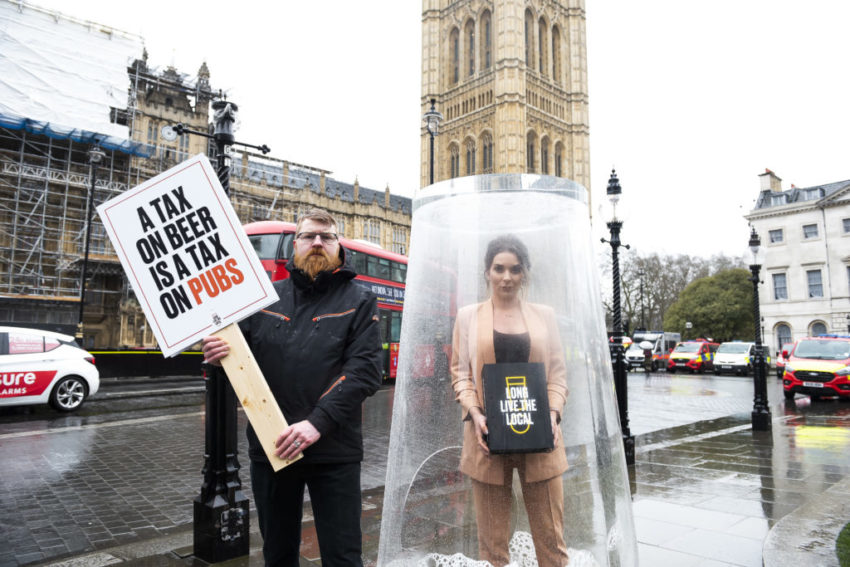 Candice Brown - Long Live The Local Protest, Westminster, London