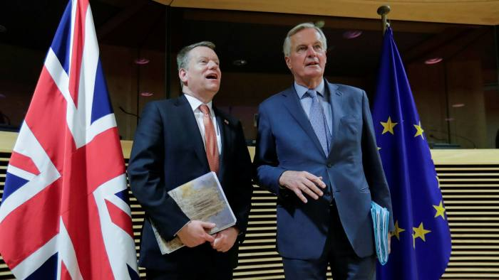 Brexit talks stall as UK resists EU demands on fair competition