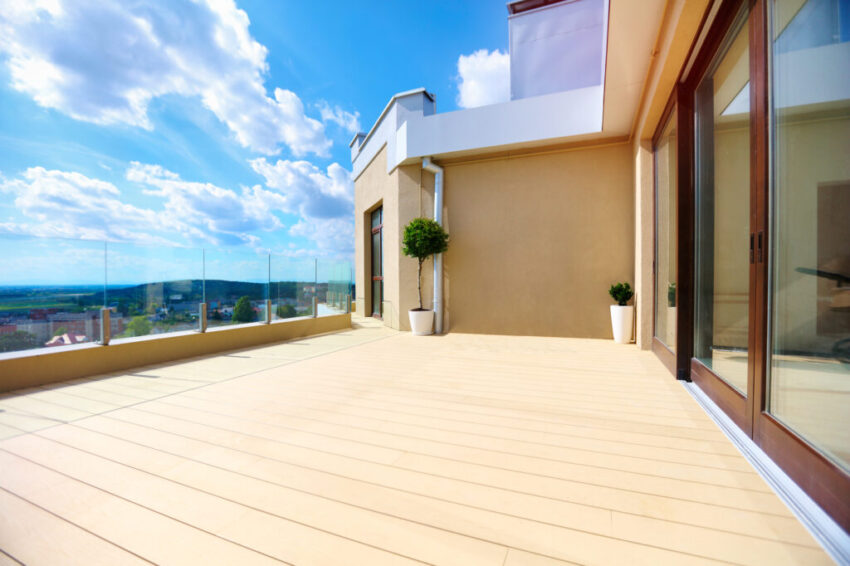 What are the advantages of composite decking