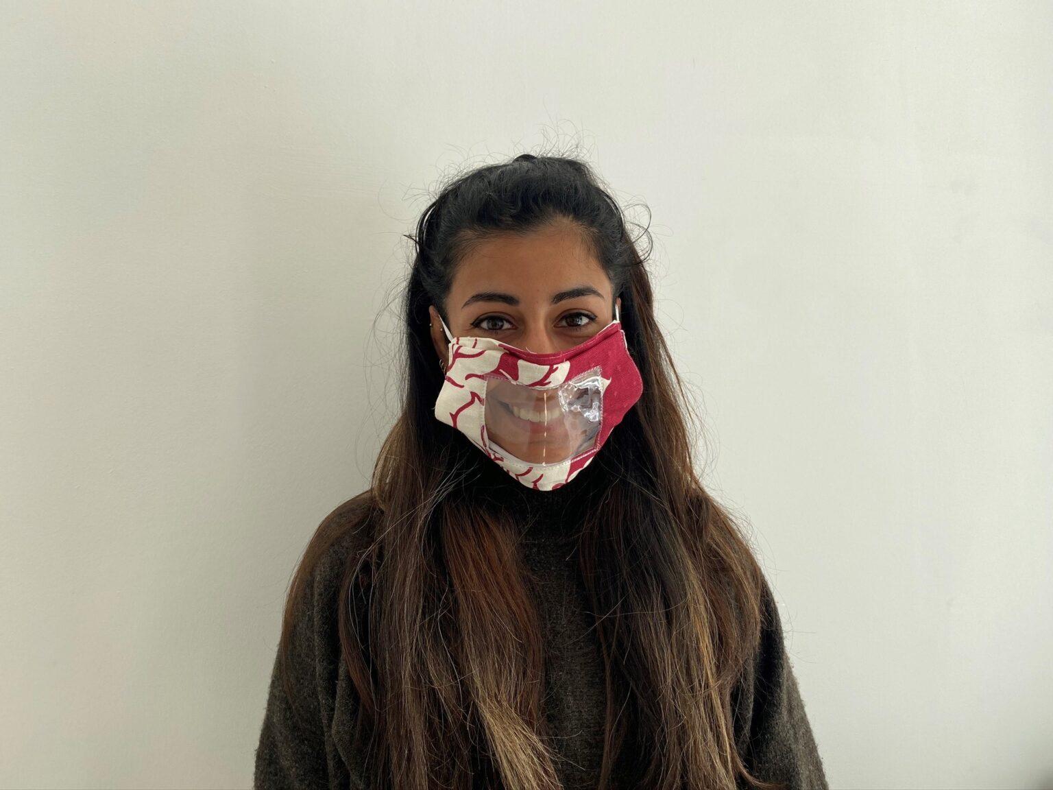 Lip reading mask