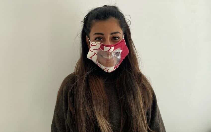 Ground-breaking face masks for lip readers launched