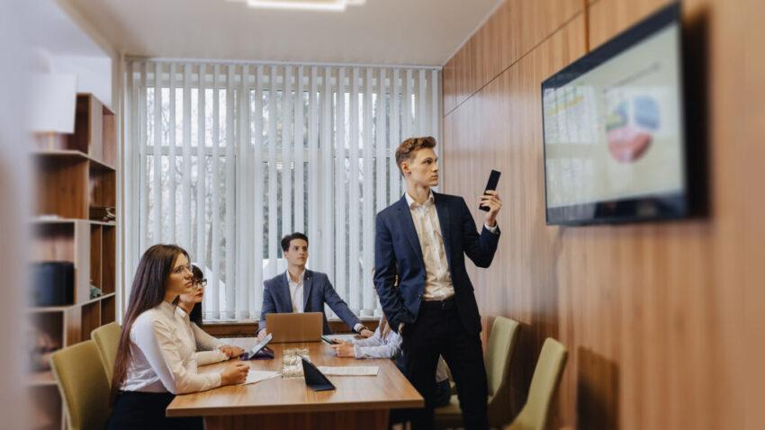 make professional presentations