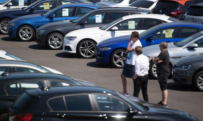 UK car dealers report strong trade as lockdown eases