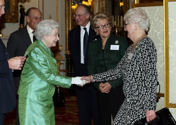 Queen at Winston Churchill event