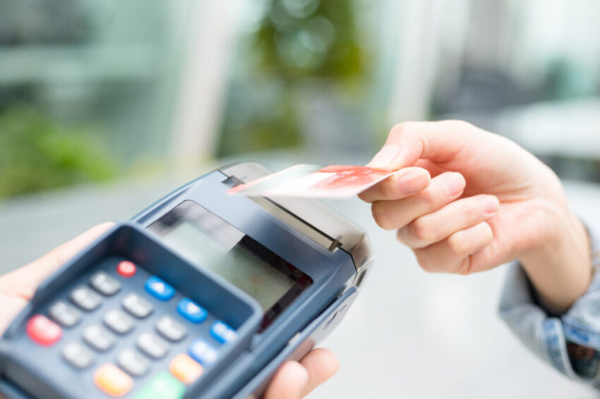 Paying with card