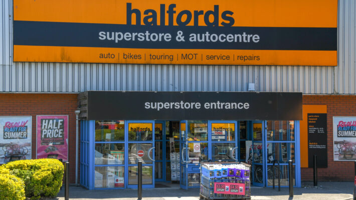Halfords Store Wales