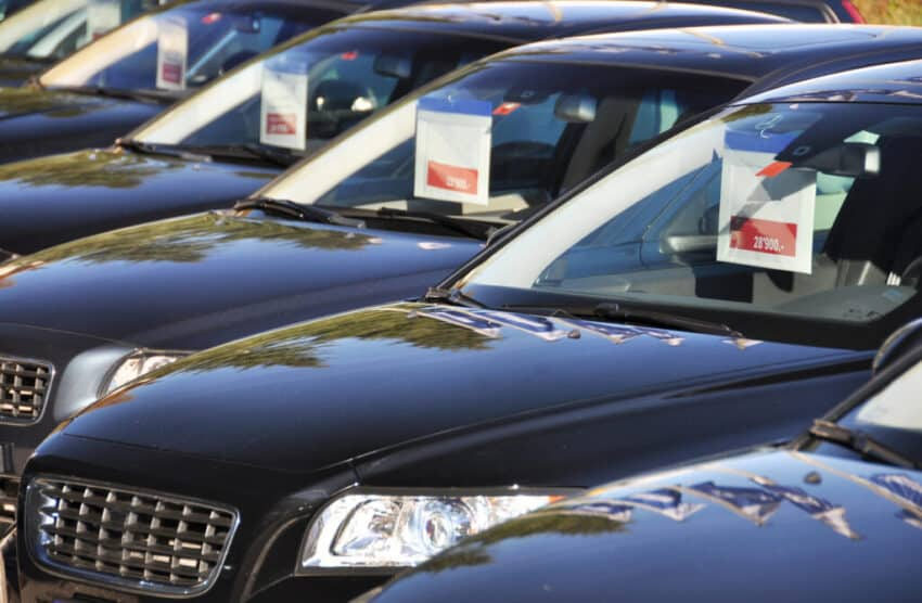 Used car sales jump as fears over public transport rise