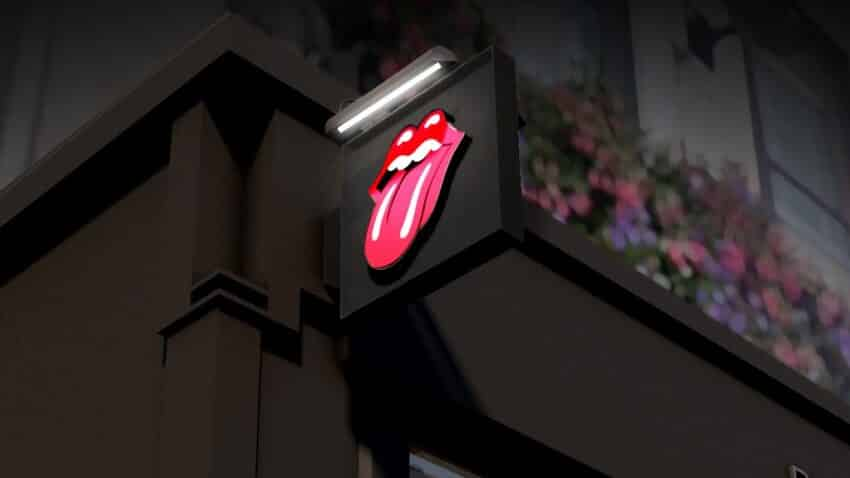 Rolling Stones sign