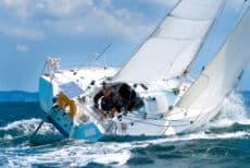 Skipper sur voilier de regate