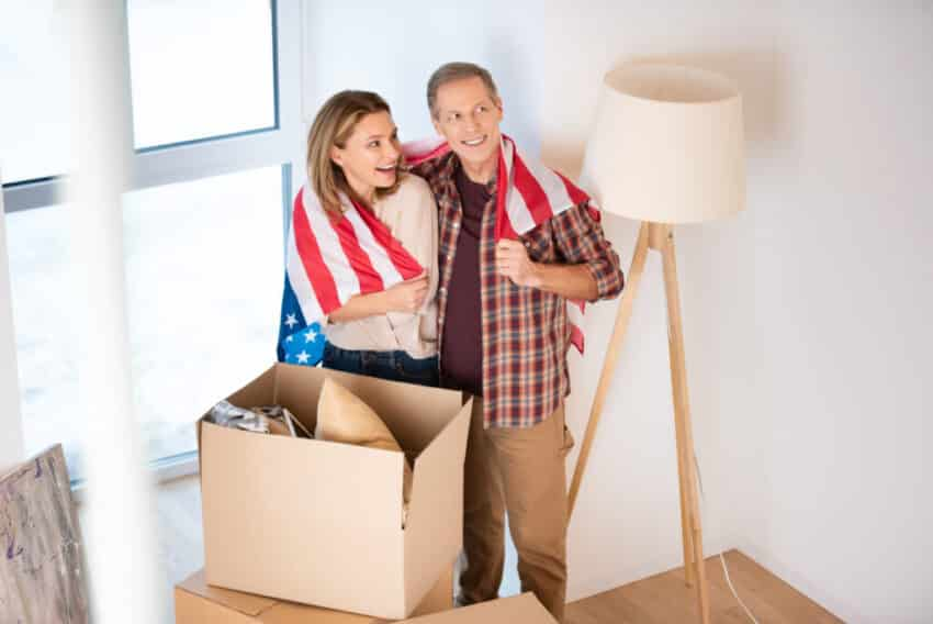 Moving to the USA