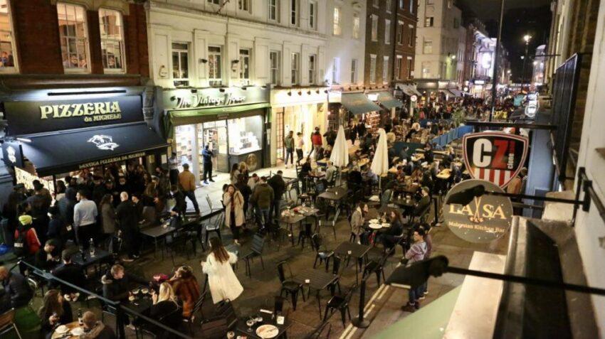 London lockdown