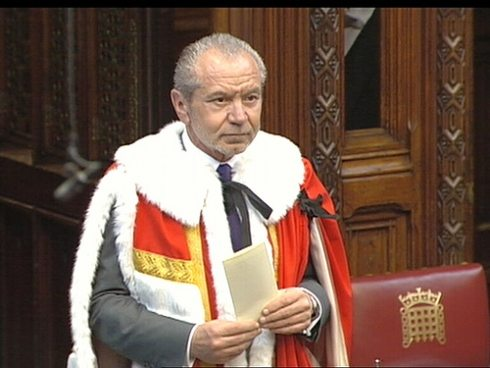 Lord Sugar sets the record straight