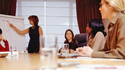 Women don't need to act like men to succeed in the Boardroom